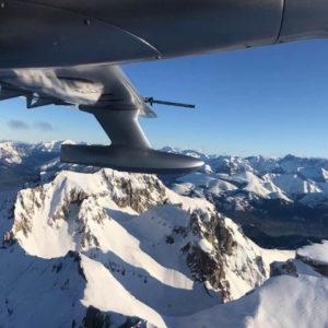 20 ноября. Перелет из Франции в Италию. Альпы. Высота 3500м